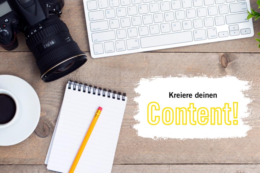 Content Erstellung für Social Media