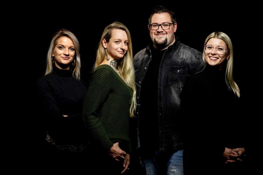 Das Team der Werbeagentur