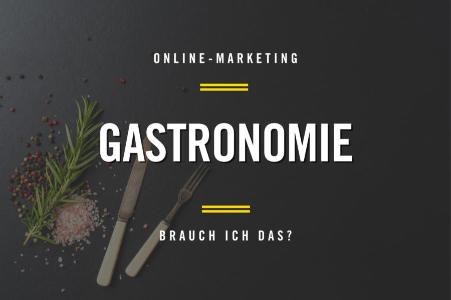 Online Marketing Gastronomie