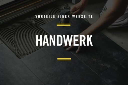Website im Handwerk