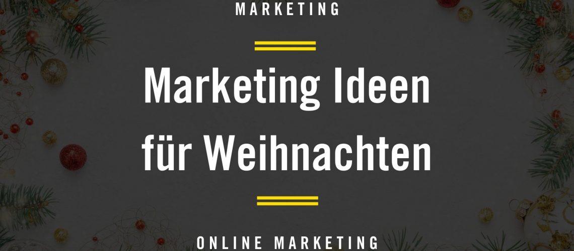 Marketing Ideen für Weihnachten Grafik